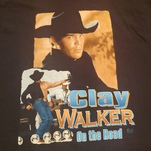 Clay Walker Who Needs You Baby Tee